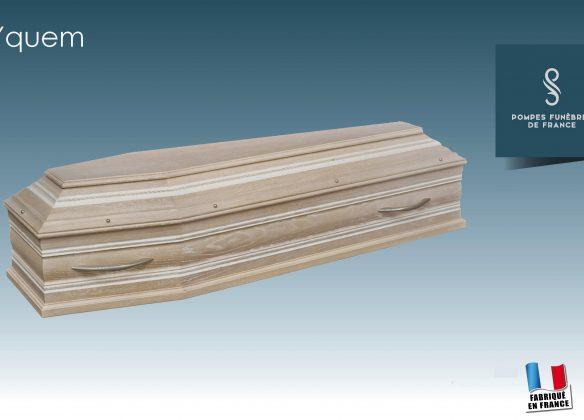 Cercueil modèle Yquem